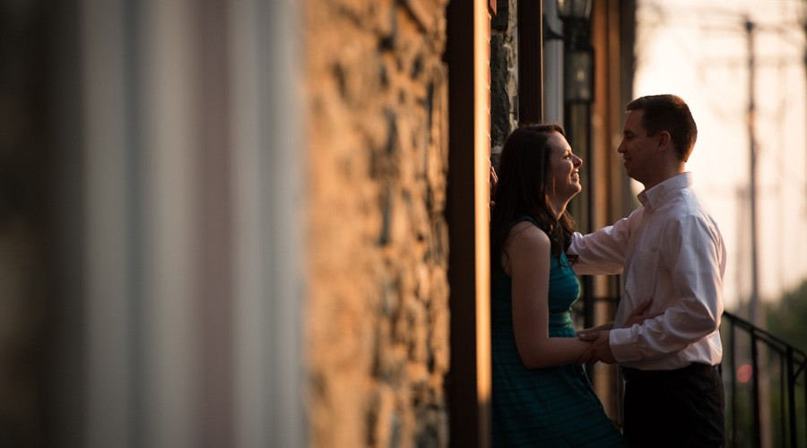 West Chester Engagement session