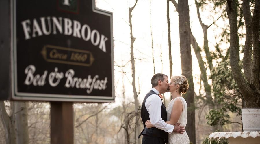Faunbrook B&B wedding