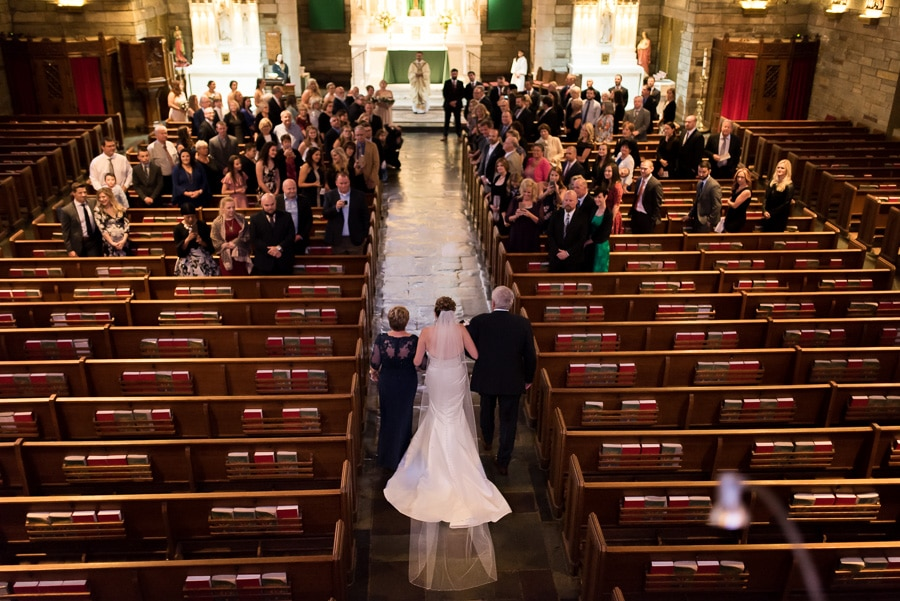 St. Agnes Catholic Church Wedding